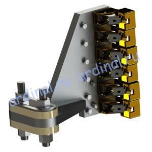 Комплект узлов токосъема 4ГПЭМ 600