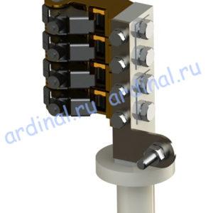 Комплект узлов токосъема ЭТВ-20