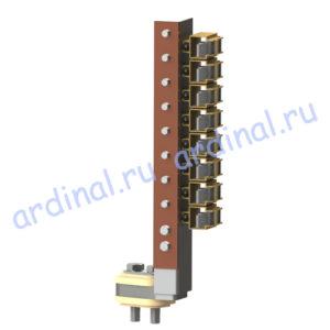 Комплект узлов токосъема МПЭ 1000-630
