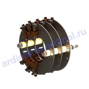 Комплект узлов токосъема <br>АКБ 13-62, АК4-450