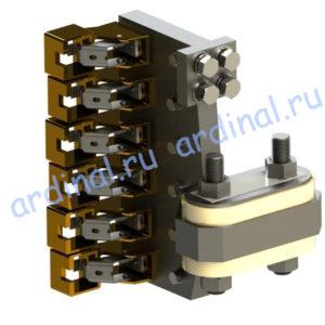 Комплект узлов токосъема ПЭ 162-6К