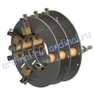 Комплект узлов токосъема АКБ 13-62