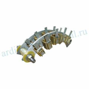 Комплект узлов токосъема СДЭ 2-16-46-6