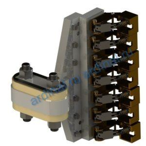 Комплект узлов токосъема ПЭВ 143-7К