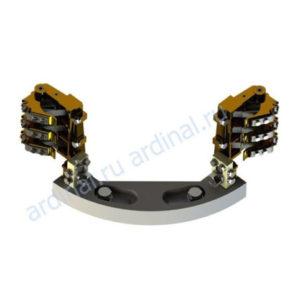 Комплект узлов токосъема ЭК-590 (с регулировкой)