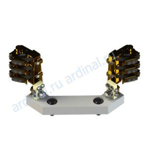 Комплект узлов токосъема ЭК-590 (без регулировки)