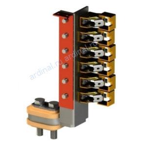 Комплект узлов токосъема ГПЭ 1250