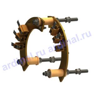 Для тяговых электродвигателей и генераторов